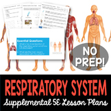 Respiratory System - Supplemental Lesson - No Lab