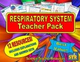 Respiratory System Teacher Pack!