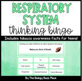 Respiratory System Thinking Bingo (PDF)