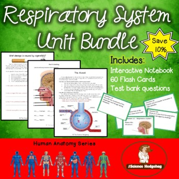 Respiratory System Unit Bundle