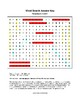 Respiratory System Word Search with Key (Grades 7-10)