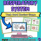 Respiratory and Excretory System Digital and Printable Tas