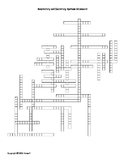 Respiratory and Excretory Systems Vocabulary Crossword for Middle School Science