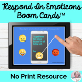 Non Verbal Communication Activity BOOM Cards™ No Print Speech Therapy