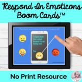 Verbal Communication Activity BOOM Cards™ No Print Speech