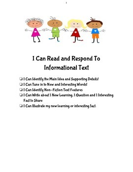 Respond to Informational Text