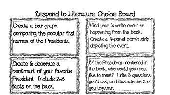Respond to Literature:  So You Want to Be President?