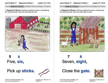 Respond to Poetry 1: Lesson 10, Book 17 (Newitt Poetry Series)