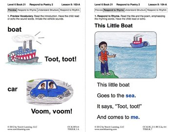 Respond to Poetry 2: Lesson 9, Book 21 (Newitt Poetry Series)