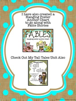 Respond to Reading: Fables