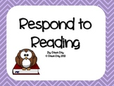 Respond to Reading Pack