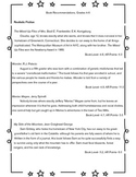 Respond to Reading (Take home reading log)