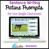Respond to a Picture Prompt AROUND THE FARM Sentence Writi