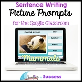 Respond to a Picture Prompt MAMMALS Sentence Writing for t
