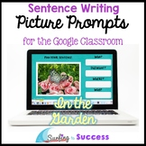 Respond to Pictures IN THE GARDEN Sentence Writing Google