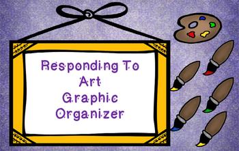 Responding To Art Graphic Organizer