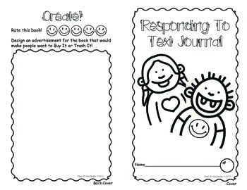 Responding To Text Journal - Blooms Revised + Common Core