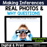 No Print Speech Therapy for Making Inferences with Real Photos
