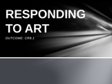 Responding to Art PowerPoint