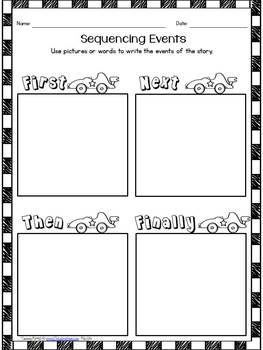 Responding to Fictional Texts: Retelling Response Sheets and Cards