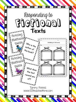 Responding to Fictional Texts: Retelling Response Sheets a