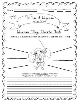Responding to Literature: The Tale of Despereaux