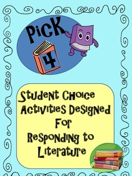 Responding to Literature for Class Book Studies,Book Clubs,or Independent Reads