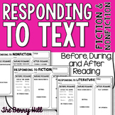 Responding to Text - Fiction and Nonfiction