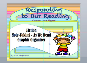Responding to Our Reading Note-Taking Fiction - Series