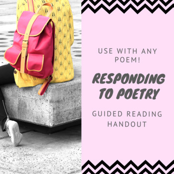 Responding to Poetry Guided Reading