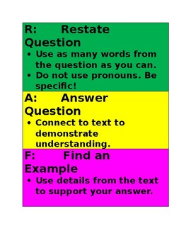 Responding to Questions using RAFT