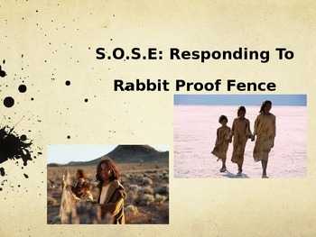 Responding To Rabbit Proof Fence