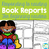 Responding to Reading {Book Reports for Elementary}