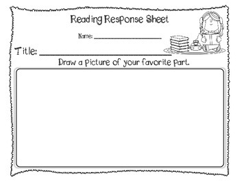 Responding to Reading Listening Sheets