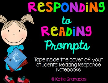 Responding to Reading Writing Prompts