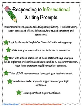 A Thesis For An Essay Should Responding To Writing Prompts  Februaryinformational Persuasive   Narrative What Is A Thesis Statement In A Essay also Thesis Statement Examples For Persuasive Essays Responding To Writing Prompts  Februaryinformational Persuasive  Thesis Statement For An Argumentative Essay