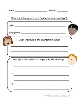 Responding to a Challenge Worksheet