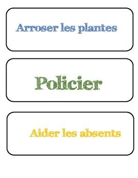 Responsabilité - charges - en français.