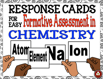 Response Cards for Easy Formative Assessment in Chemistry