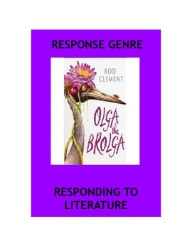 Genre - Responding to Text - Literature