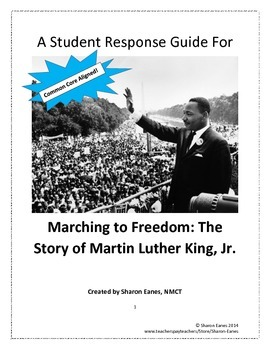 Marching to Freedom: The Story of Martin Luther King,Jr. R