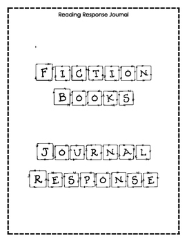 Response Journal - Chapter Books