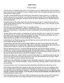 Response Journal - Bullying