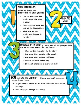Response Journal Discussion and Writing Prompts for Mercy Watson