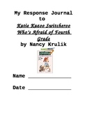 Response Journal for Katie Kazoo Switcheroo
