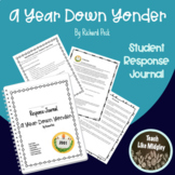 Response Journal for Newbery Winner: A Year Down Yonder