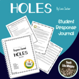 Response Journal for Newbery Winner: Holes