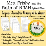Response Journal for Newbery Winner: Mrs. Frisby and the R
