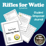 Response Journal for Newbery Winner: Rifles for Watie
