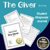 Response Journal for Newbery Winner: The Giver